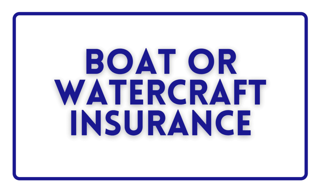 Boat or Watercraft